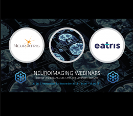 Neuroimaging webinar series by NEuATRIS and EATRIS