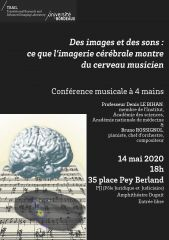 Musical Conference: from science to music, it just takes a few steps...